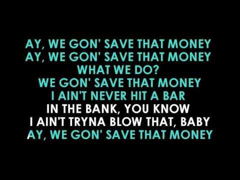 $ave Dat Money karaoke  Lil Dicky feat  Fetty Wap and Rich Homie Quan   | GOLDEN KARAOKE