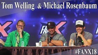 Michael Rosenbaum and Tom Welling - Smallville Panel/Q&A - FanX 2018