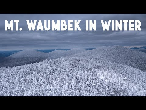 The Enchanting Forests of Mt. Waumbek | Winter Hike In NH