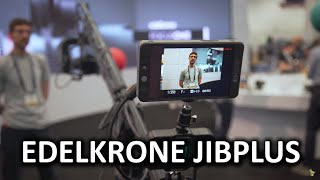 Camera crane that is actually easy to use!? - edelkrone Booth