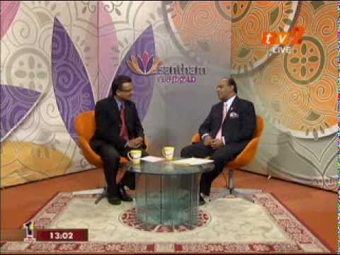 Datuk Saravanan - RTM 2 Vasantham Talk Show Travel Video