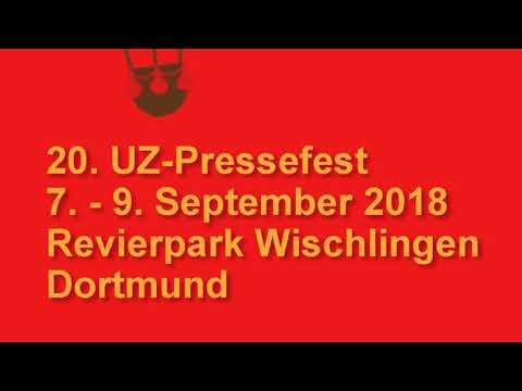 Ankündigung: Stand unserer Zeitung 7. - 9. September UZ-Pressefest