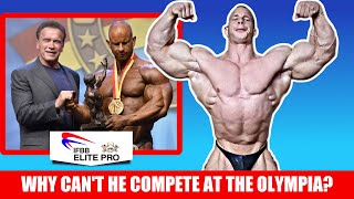 This Bodybuilder CAN'T Compete at the Olympia - The Aesthetic Mass Monster