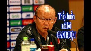 HLV Park Hang-seo nói lời gan ruột sau chiến thắng nghẹt thở Indonesia