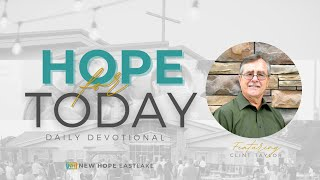 Hope for Today | Ending Well | 11.13.20