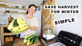 SAVING Squash for WIΝTER | TUESDAY TIP OF THE DAY