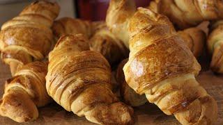 Αφράτα & Εύκολα Κρουασάν - How to make Croissants