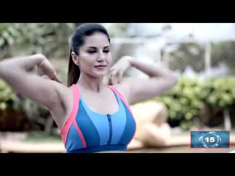Sunny Leone Full Body Exercises   YouTube 360p