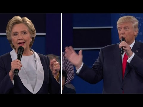Clinton, Trump disagree over Syria