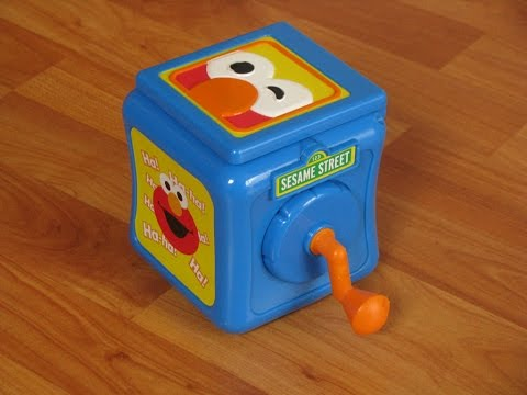 Sesame Street Elmo Jack in the Box Toy
