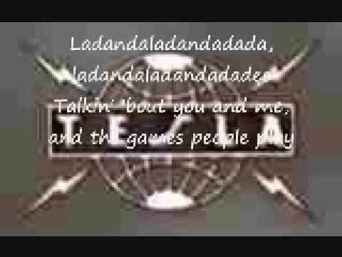 Tesla - Games People Play