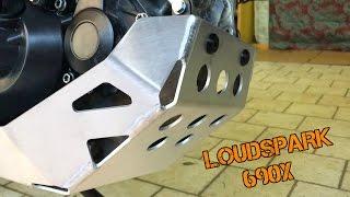 Skid Plate Mounting KTM 690 SMC/Enduro | Montaggio paramotore