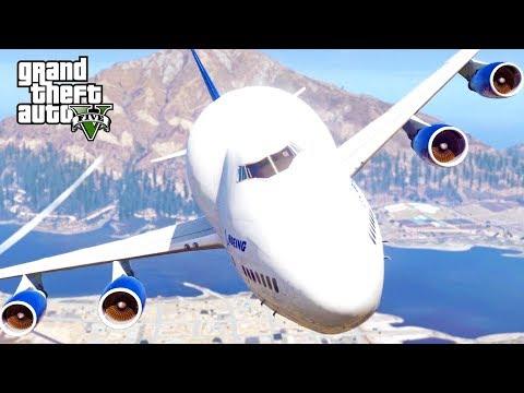 GTA 5 SP #70 - Boeing 747LCF Dreamlifter Mod