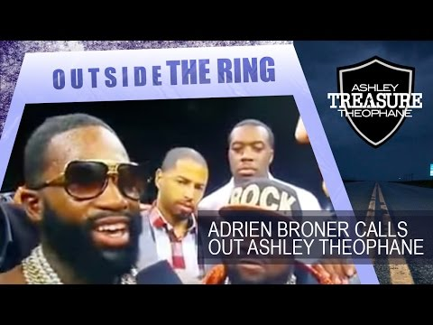 "Adrien Broner calls out ""The Money Teams"" Ashley Theophane"
