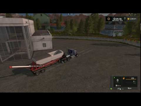 Farming Simulator 2017   Chandler 24RDT Tender Trailer With Dual Fillplains