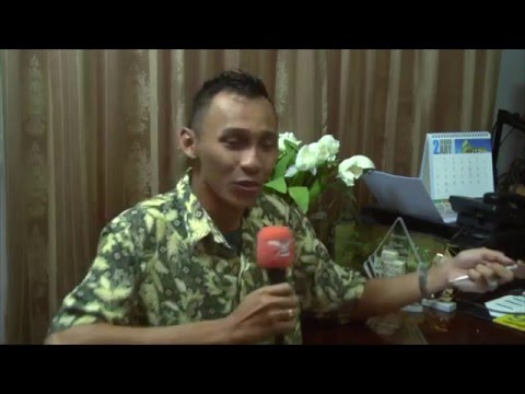 Garuda TV Suriname Interview with Antoon Sisal on Javanese D