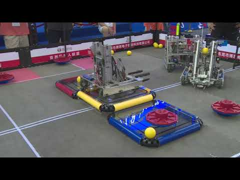 VEX Turning Point China WRC RoboCon Matches | Volume Warning