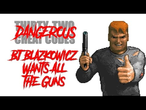 B.J. Blazkowicz Wants All the Guns (Cheat...