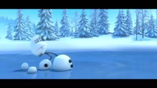 可愛すぎて面白すぎ!  『アナと雪の女王』大人気名脇役オラフ&スヴェン 特別映像 thumbnail