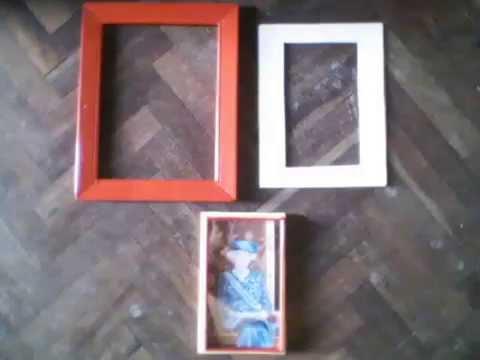 Como encuadrar un dibujo con un lienzo con bastido youtube - Como enmarcar un lienzo ...