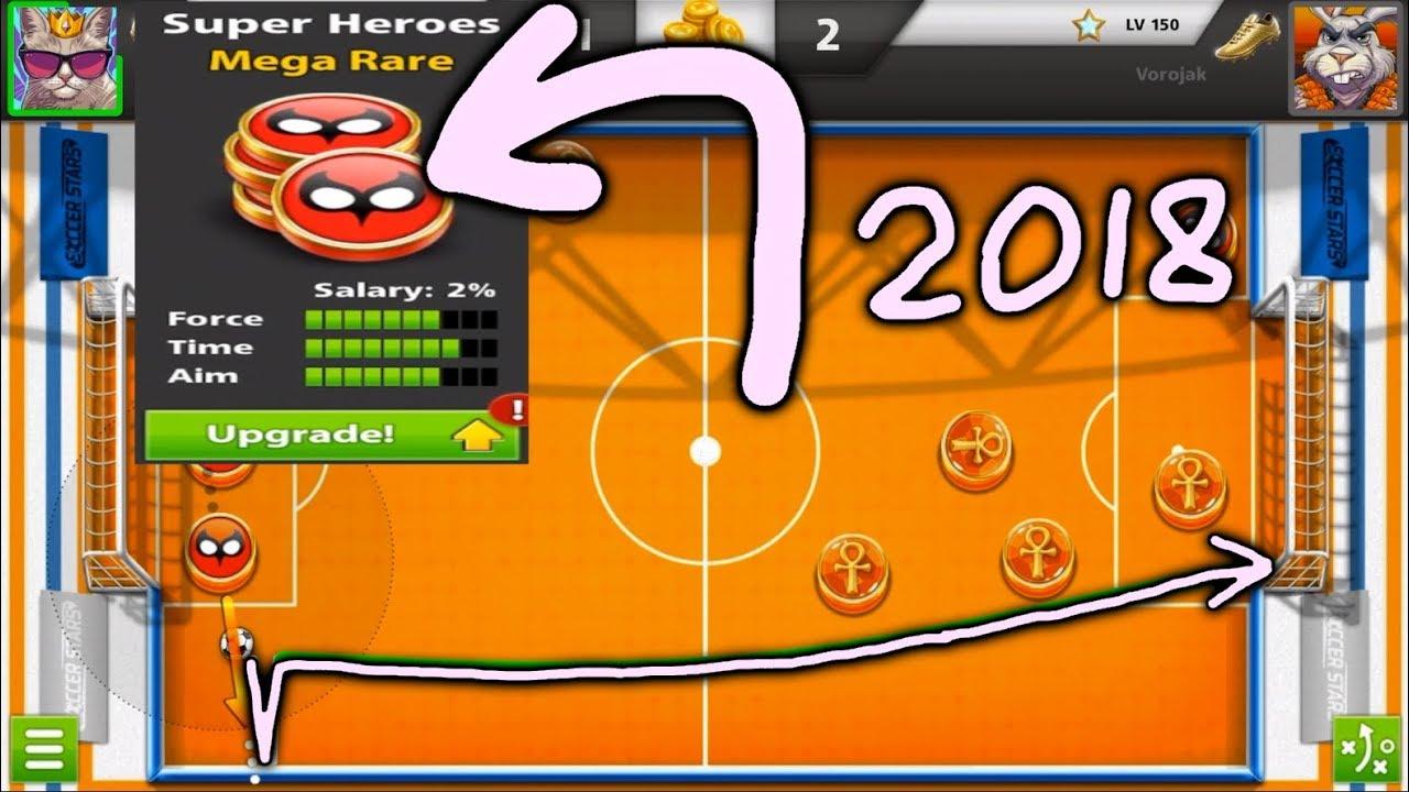 SOCCER STARS Upgrading Super Heroes Team | Netherland 8M + Tips & Tricks