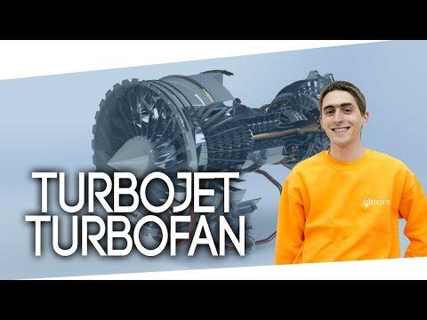 Come funziona un motore aeronautico? Turbojet e turbofan [Lez.26]
