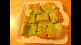 Green Ooey Gooey Cake