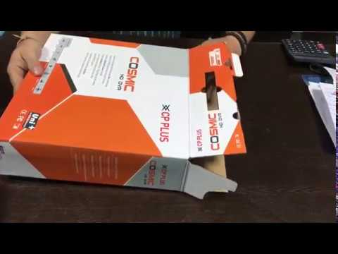 CP Plus Cosmic Series 8 Channel DVR Full HD 1080p - Product Review