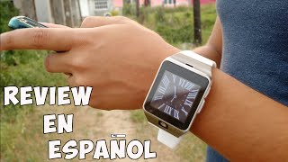 Smart Watch GV18 Aplus - Review en español || AndroidStudios