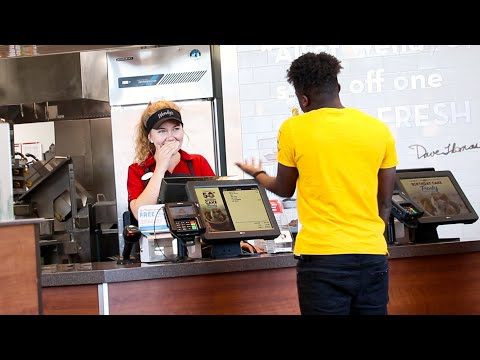 RAPPING MY ORDER AT FAST FOOD RESTAURANTS!!