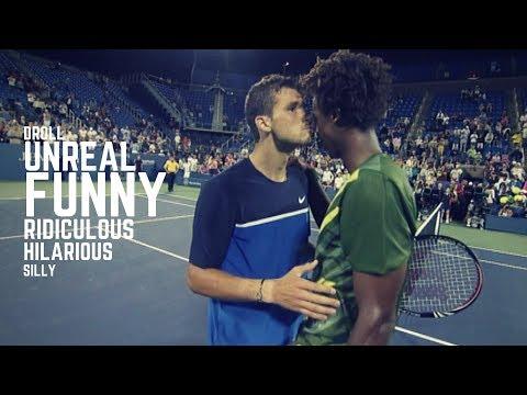 Tennis. Funny Moments - Part 1