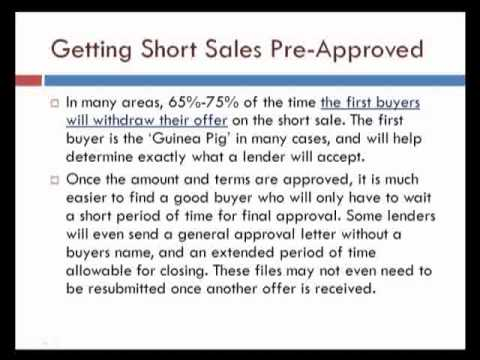 Short Sale Training Session 5 - Expert Negotiations