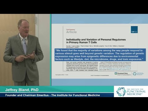 Systems Biology & Functional Medicine: Chronic Disease Management with Jeffrey Bland, PhD