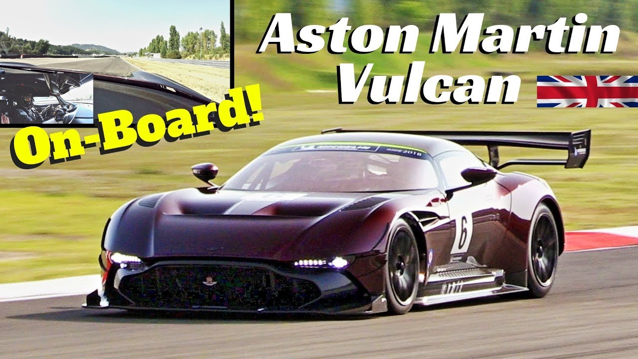Aston Martin Vulcan Amr Pro Super Onboard Sound Crazy 800hp V12 Engine At Varano Circuit Youtube