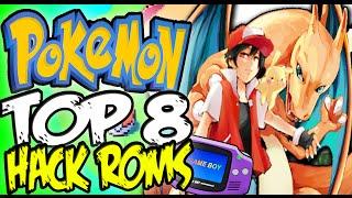 🔴 TOP 8 MEJORES HACK ROMS GBA DE POKEMON ¡Existentes! ★ SpanglishTec