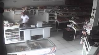 Loteria e Casa de Carnes são alvos de bandidos em Presidente Olegário (Casa de Carnes)