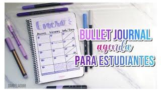 ORGANIZATE PARA LA ESCUELA / Bullet journal agenda para estudiantes - DanielaGmr ♥