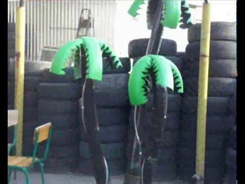 видео: поделки из шин
