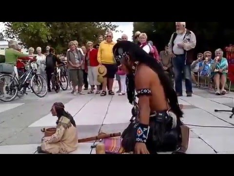 One of the best Native American's  music touches heart and soul by alexandro querevalú