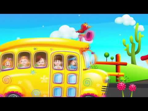 Wheels On The Bus   Popular Nursery Rhymes Collection for Children   ChuChu TV Rhymes Zone 2