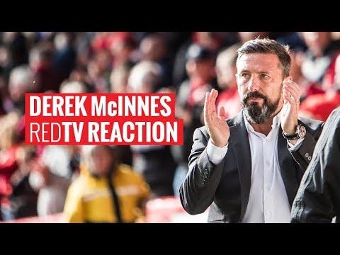 Aberdeen 2-1 Dundee | Derek McInnes