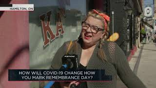 How will COVID-19 change how you mark remembrance Day? | Outburst
