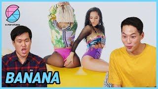 Reaccionado por los hombres coreanos, Banana de Anitta y Becky g