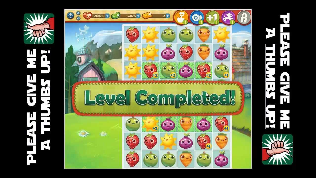 Farm Heroes Saga :: Level 41 Complete with High Score!!