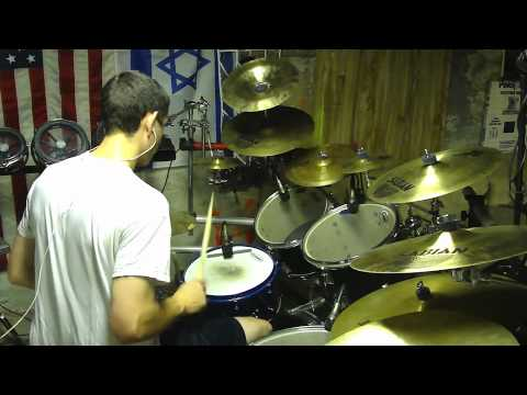 Three Days Grace -- Chalk Outline Drum Cover - YouTube