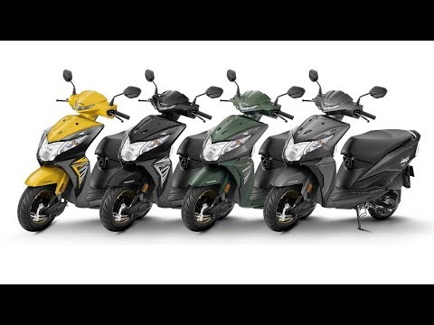 New 2018 Honda Dio Deluxe - All Colours & 360-degree - Images | AUTOBICS