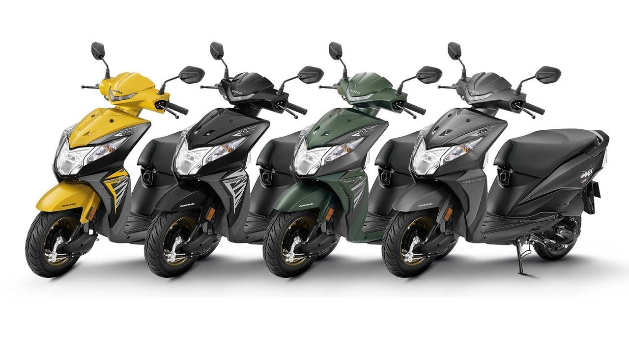 New 2018 Honda Dio Deluxe All Colours 360 Degree Images