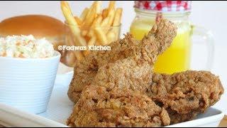 ♨Tasty Broasted Chicken || അടിപൊളി ചിക്കൻ ബ്രോസ്റ്റ് || Recipe : 79