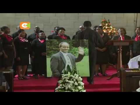 GG requiem service held in Nairobi