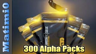Opening 300 Alpha Pa¢ks - So Many Legendaries - Rainbow Six Siege